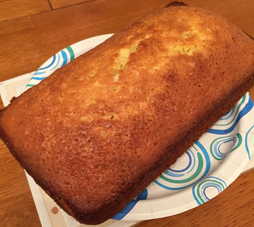 Easy as Pie… well, Cake… Easy Lemon Pound Cake | onedadskitchen